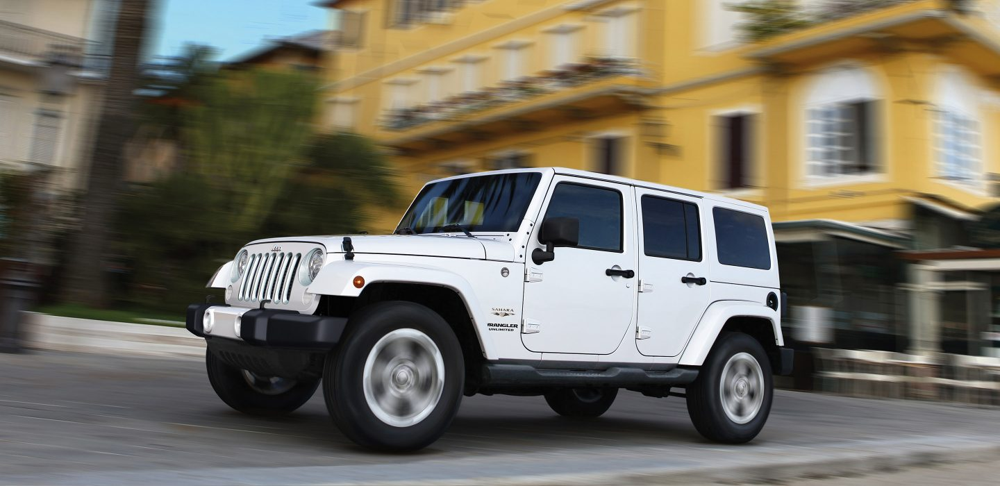 2017 Jeep Wrangler Unlimited Exterior White