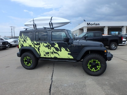Jeep Lj For Sale >> Used 2016 Jeep Wrangler Jk Unlimited Sport 4x4 For Sale In Cape Girardeau Near Carbondale 1c4hjwdg9gl283405
