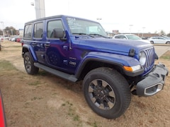 New 2018 Jeep Wrangler UNLIMITED SAHARA 4X4 Sport Utility for sale in Cape Girardeau