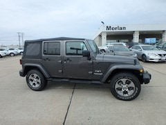 Certified Pre-owned 2018 Jeep Wrangler JK Sahara SUV for sale in Cape Girardeau