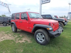 New 2018 Jeep Wrangler UNLIMITED SPORT S 4X4 Sport Utility for sale in Cape Girardeau