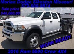 2016 Ram 5500 TRADESMAN CHASSIS CREW CAB 4X4 173.4 WB Crew Cab