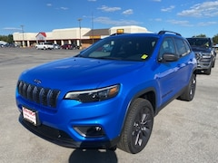 New 2021 Jeep Cherokee 80TH ANNIVERSARY 4X4 Sport Utility for Sale in Sikeston, MO, at Autry Morlan Dodge Chrysler Jeep Ram