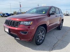 New 2021 Jeep Grand Cherokee 80TH ANNIVERSARY 4X4 Sport Utility for Sale in Sikeston, MO, at Autry Morlan Dodge Chrysler Jeep Ram