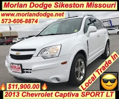 Used 2013 Chevrolet Captiva Sport F LT SUV 17-455A for Sale in Sikeston MO at Morlan Dodge Inc Sikeston MO