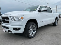 New 2020 Ram All-New 1500 BIG HORN CREW CAB 4X4 5'7 BOX Crew Cab 20-301 for Sale in Sikeston MO at Morlan Dodge Inc. Sikeston MO