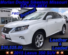New 2015 LEXUS RX 350 SUV for Sale in Sikeston, MO, at Autry Morlan Dodge Chrysler Jeep Ram
