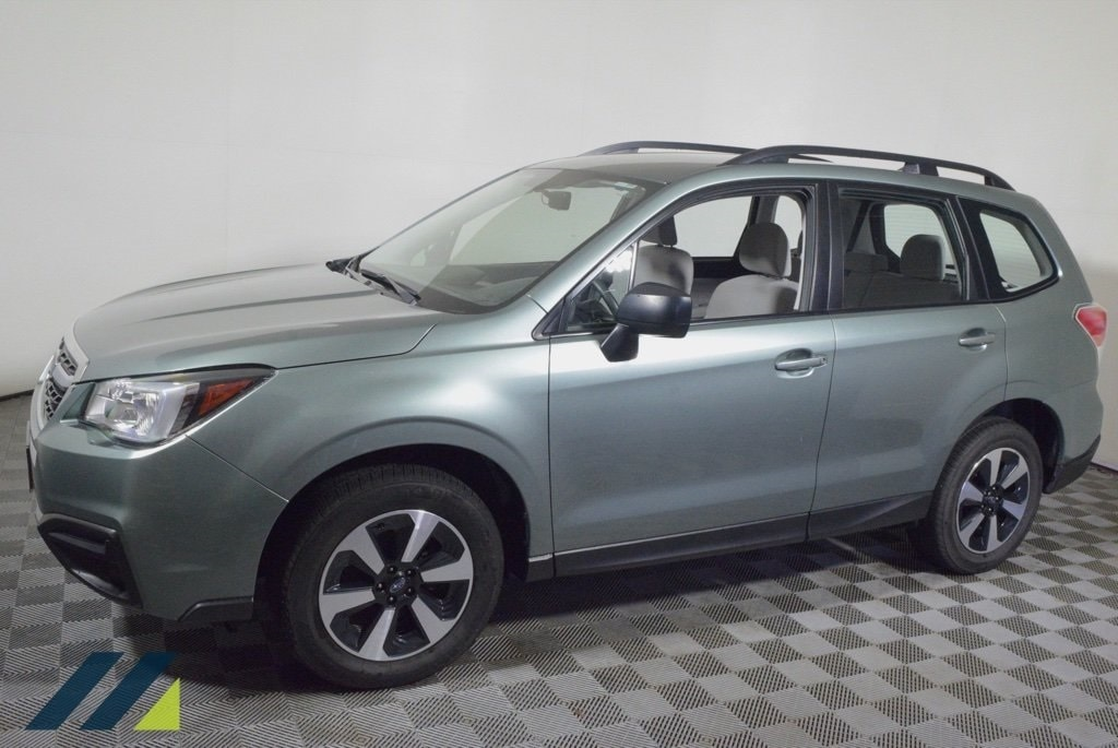 Used 2018 Subaru Forester  with VIN JF2SJABC6JH566381 for sale in Brooklyn Park, Minnesota