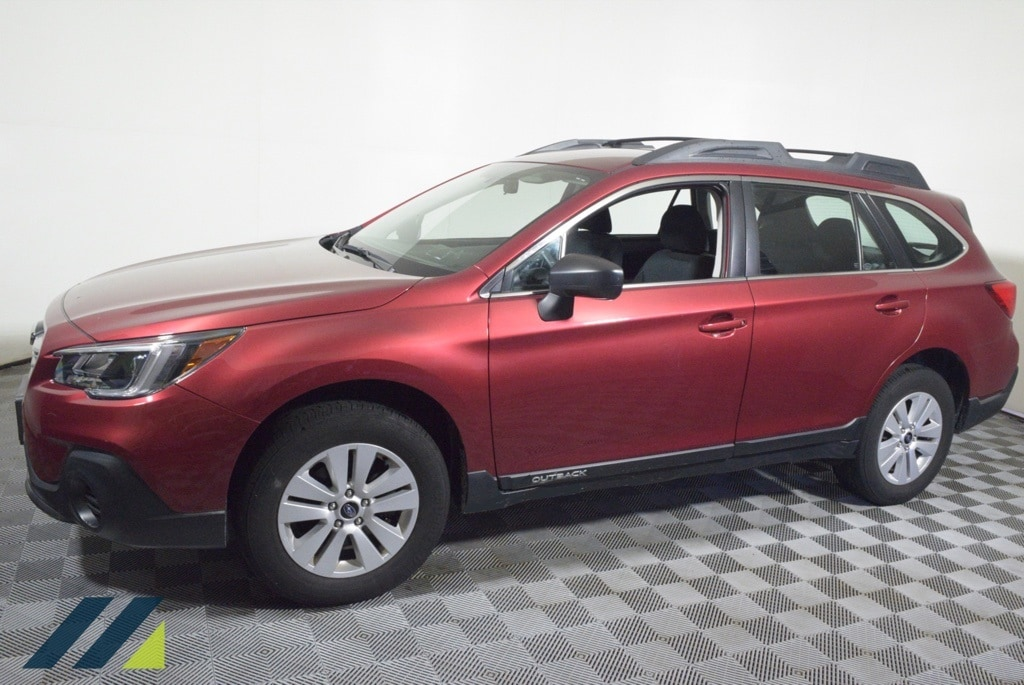 Certified 2018 Subaru Outback  with VIN 4S4BSAAC6J3370706 for sale in Brooklyn Park, Minnesota