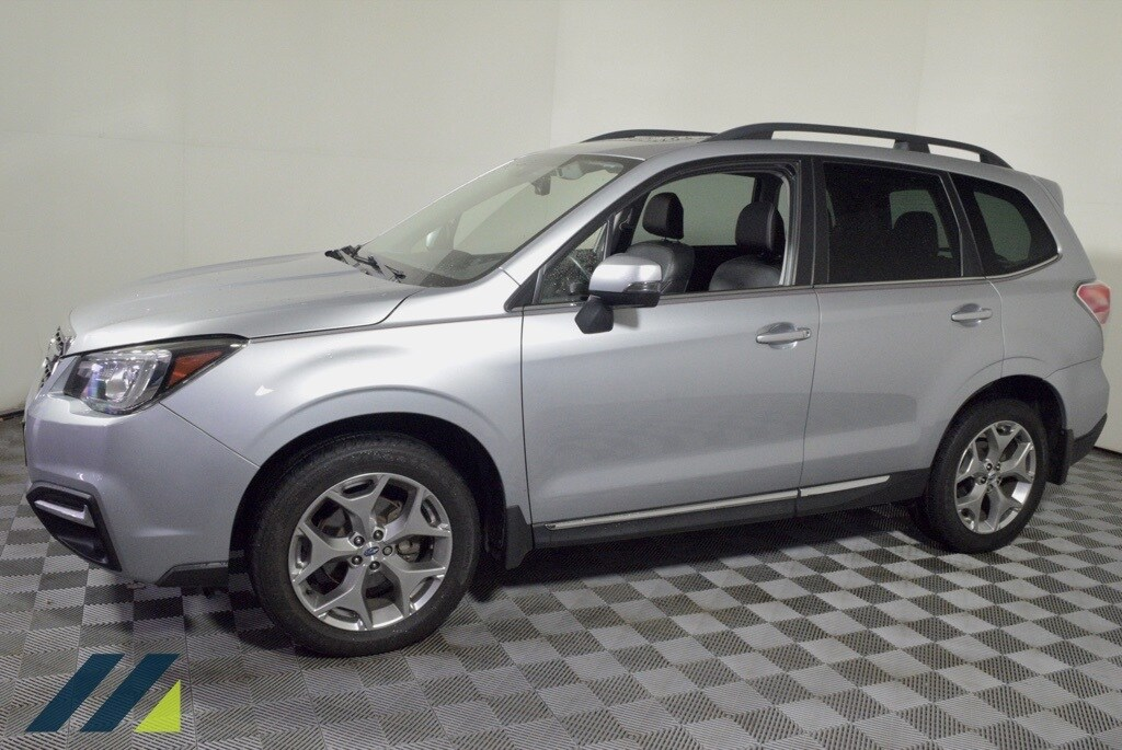 Used 2018 Subaru Forester Touring with VIN JF2SJAWC8JH472030 for sale in Brooklyn Park, Minnesota