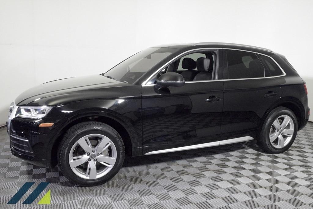 Used 2018 Audi Q5 Premium Plus with VIN WA1BNAFY5J2152398 for sale in Brooklyn Park, Minnesota