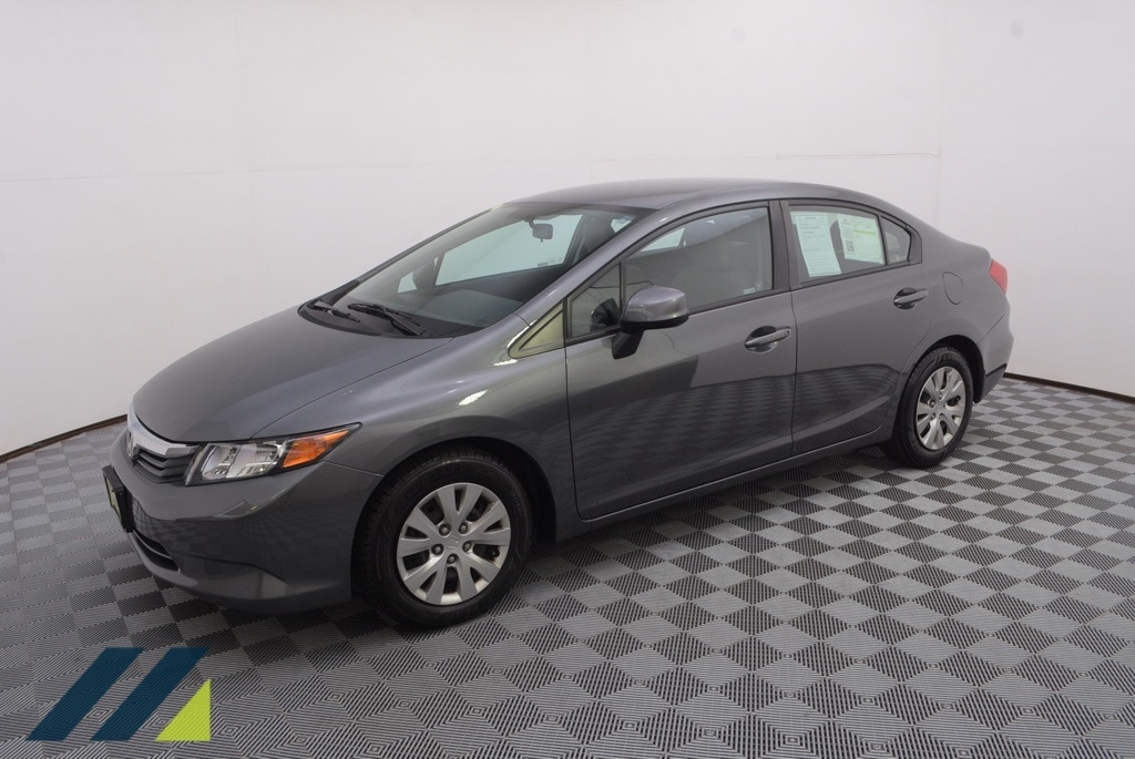 Used 2012 Honda Civic LX with VIN 19XFB2F56CE095534 for sale in Minnetonka, Minnesota