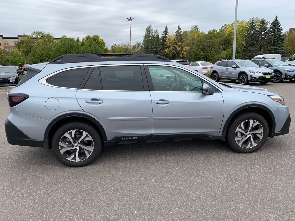 Used 2021 Subaru Outback Limited with VIN 4S4BTGNDXM3225448 for sale in Minnetonka, Minnesota