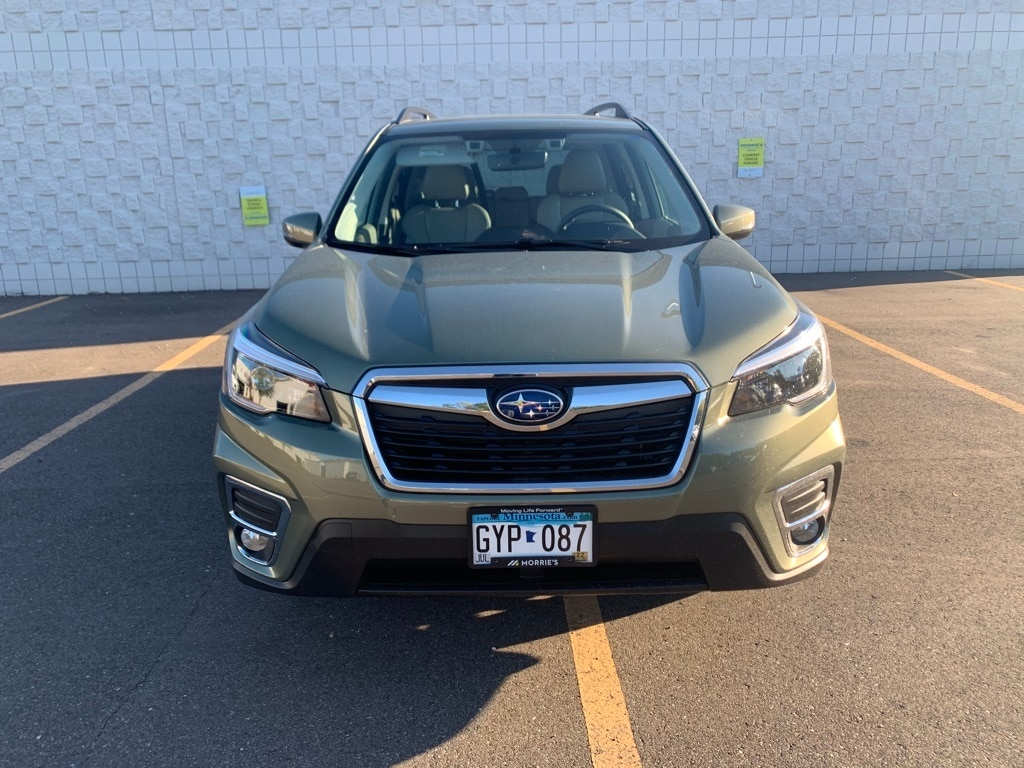 Used 2021 Subaru Forester Limited with VIN JF2SKAUC7MH566632 for sale in Minnetonka, Minnesota