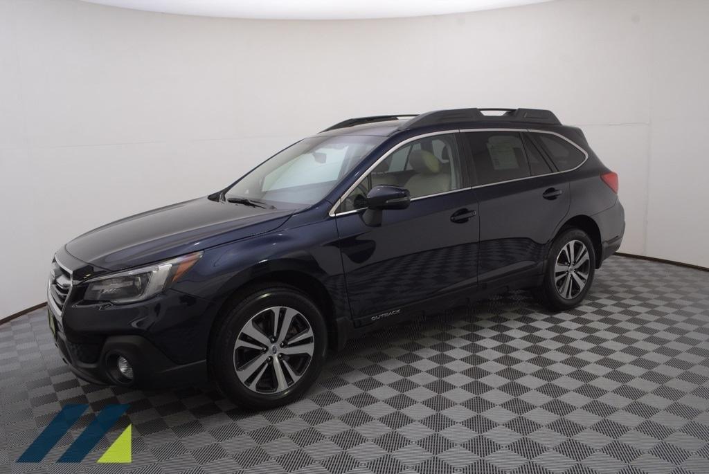 Used 2018 Subaru Outback Limited with VIN 4S4BSANC6J3394448 for sale in Minnetonka, Minnesota