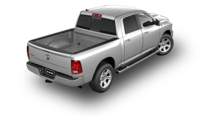 2017 RAM 1500 Lone Star Silver Rear View