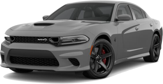 Grey Dodge Charger
