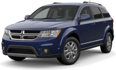 Blue Dodge Journey