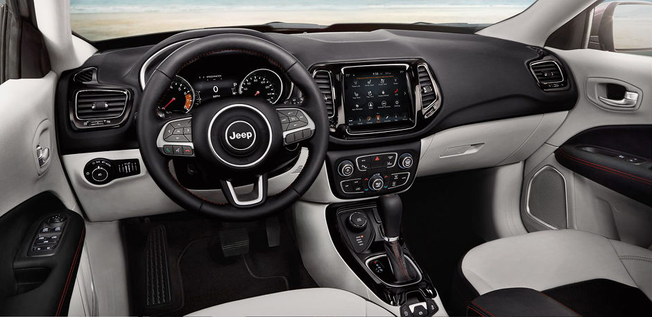 2018 Jeep Compass Interior Features in Joliet, IL