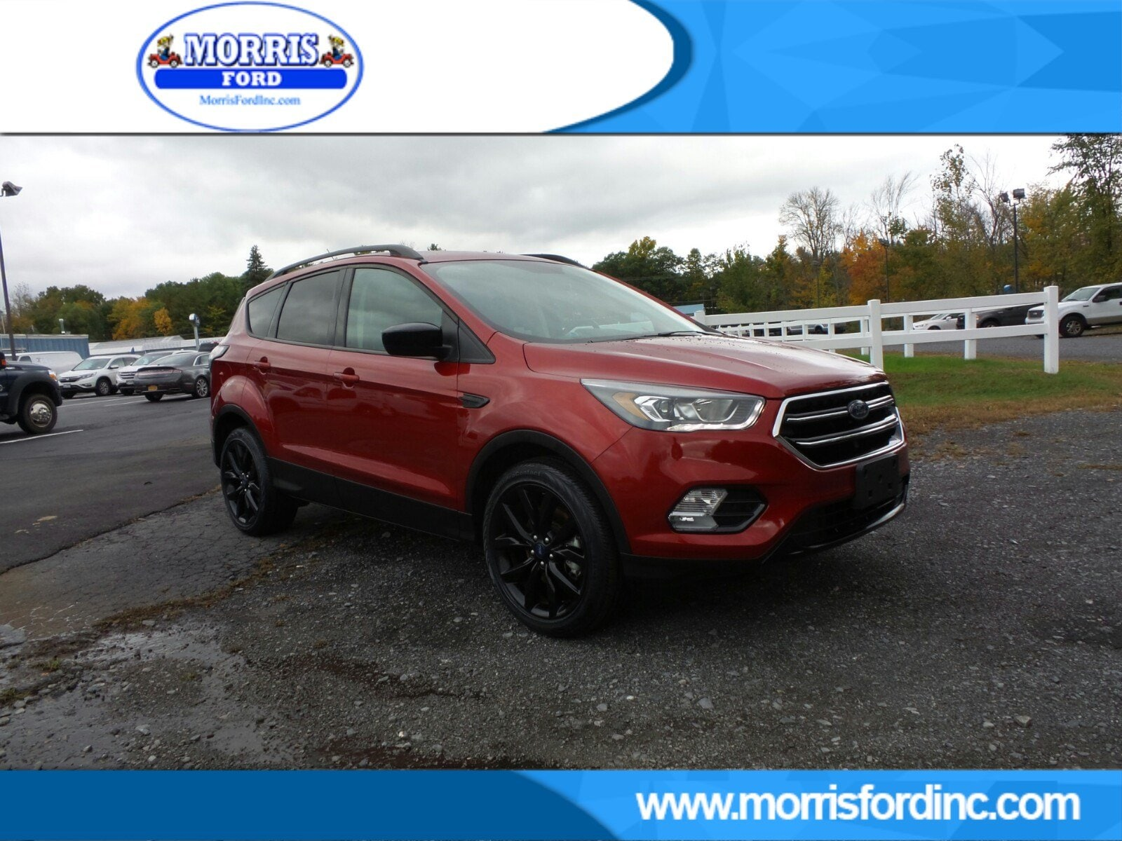 2018 Ford Escape S SE 4WD