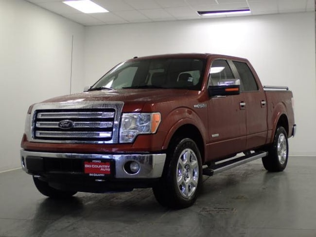 2014 Ford F-150 4WD Supercrew 145 Lariat Crew Cab Pickup