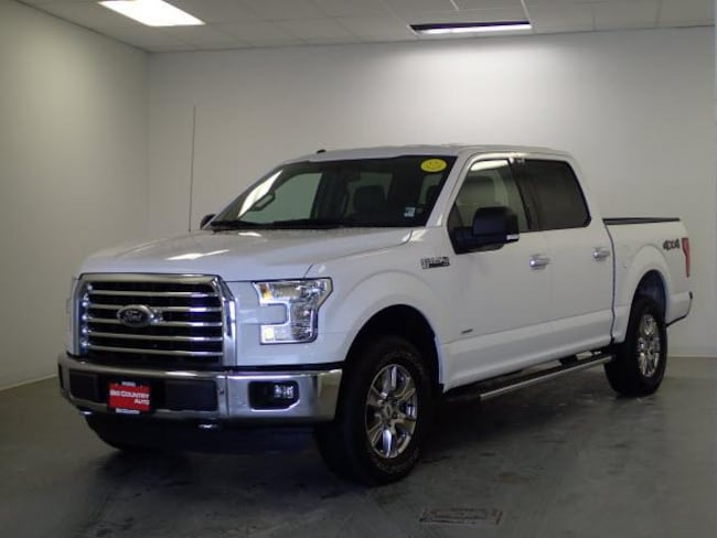 2015 Ford F-150 4WD Supercrew 145 XLT Crew Cab Pickup