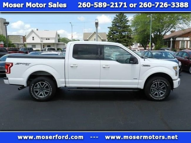 2016 Ford F-150 XLT Supercrew 5.5-ft. Bed 4WD 4WD SuperCrew 145 XLT