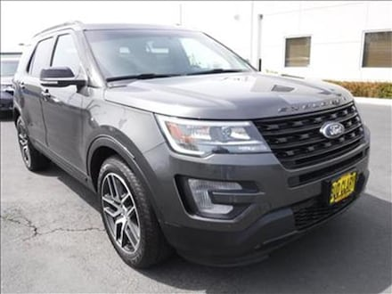 Featured Used 2017 Ford Explorer Sport 4x4 1FM5K8GT4HGC18875 for Sale near Kelso, WA