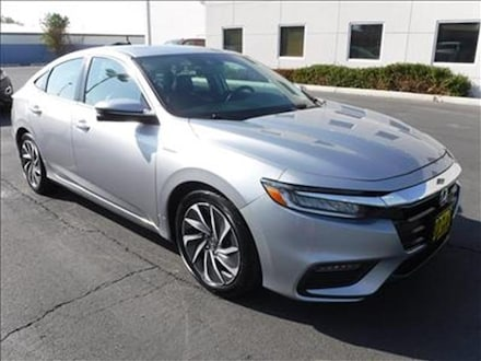 Featured Used 2019 Honda Insight Touring Sedan 19XZE4F96KE016395 for Sale near Kelso, WA