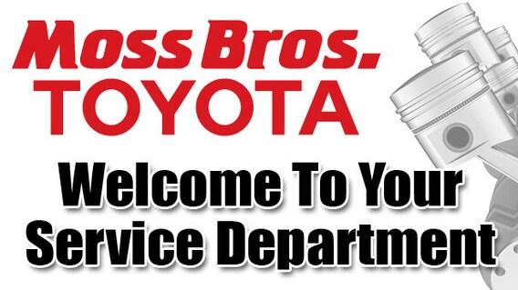 Moreno Valley Toyota Repair Moss Bros Toyota Service Center