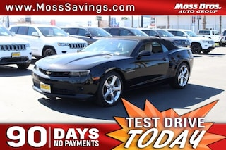 Used Chevrolet Camaro Riverside Ca