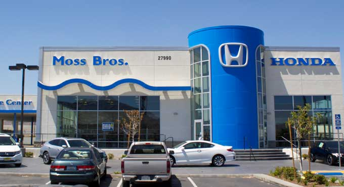 hours directions to moss bros honda in moreno valley