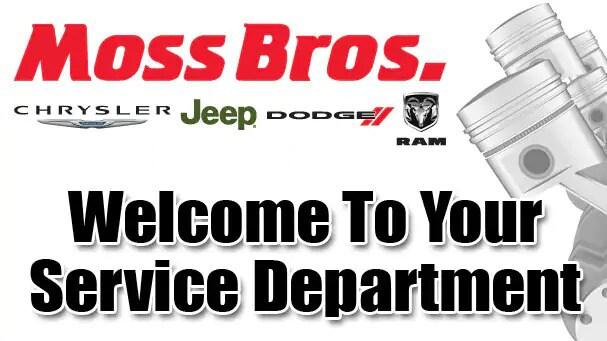 Chrysler Dodge Jeep Ram Fiat Service Center In Riverside Moss Bros