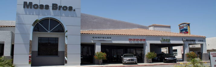 Moss Bros. Chrysler Dodge Jeep Ram FAIT of Moreno Valley