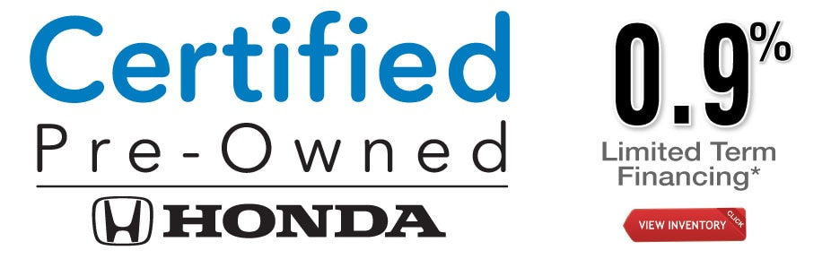 Honda Certified Pre Owned Financing >> Certified Pre Owned Special Offer Moss Bros Honda
