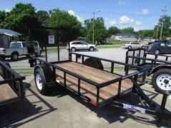 2014 Texas Bragg Utility Trailer 5X10 Pipe