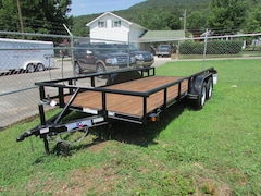 2014 Texas Bragg Utility Trailer 16 Foot Pipe