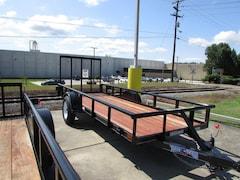 2015 Texas Bragg Utility Trailer 5X14 Pipe