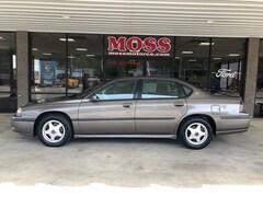 Used 2002 Chevrolet Impala LS Sedan 2G1WH55KX29373106 BH18F195D