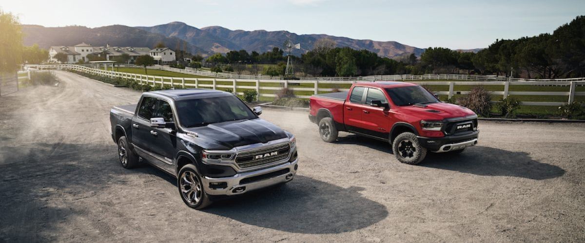 New Ram Trucks serving Riggold