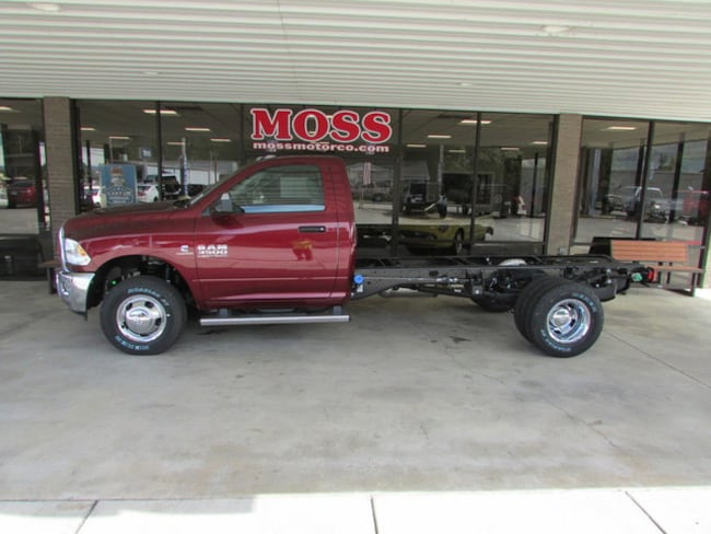 New 2018 Ram 3500 TRADESMAN CHASSIS REGULAR CAB 4X4 167.5 WB Regular Cab in South Pittsburg, TN