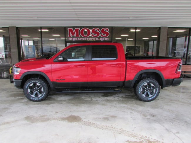 New 2019 Ram 1500 REBEL CREW CAB 4X4 5'7 BOX Crew Cab in South Pittsburg, TN