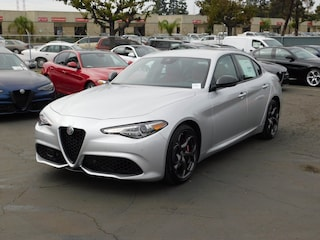 New 2019 Alfa Romeo Giulia Ti SPORT RWD Sedan ZARFAMBN9K7601026 for sale or lease in National City, CA near San Diego