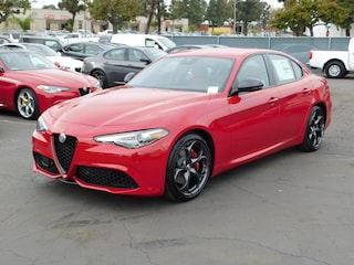 New 2019 Alfa Romeo Giulia Ti SPORT RWD Sedan ZARFAMBN4K7601113 for sale or lease in National City, CA near San Diego