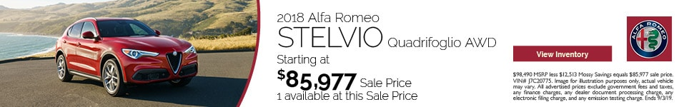 2018 Alfa Romeo Stelvio Quad