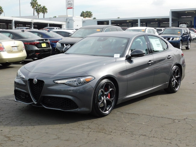 New 2019 Alfa Romeo Giulia Ti SPORT RWD Sedan For sale /lease in National City, CA