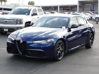 New 2019 Alfa Romeo Giulia Ti SPORT RWD Sedan ZARFAMBN4K7600771 for sale or lease in National City, CA near San Diego