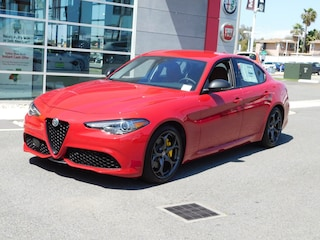 New 2019 Alfa Romeo Giulia Ti SPORT RWD Sedan ZARFAMBN2K7601000 for sale or lease in National City, CA near San Diego