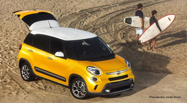 Mossy Fiat  The new 2014 4door Fiat 500L
