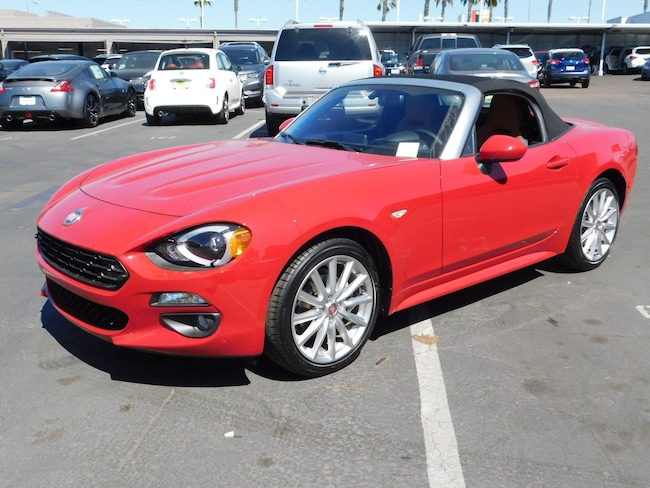 New 2018 FIAT 124 Spider LUSSO Convertible for sale near San Diego, CA